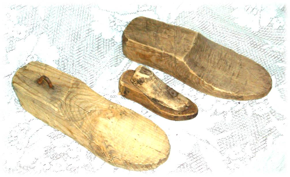 Деревянная обувь своими руками 812